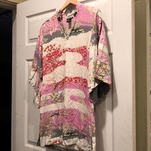Beautiful Lucky Brand Kimono tunic dress M